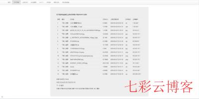 彩虹共享资源列表_pan.cccyun.cc